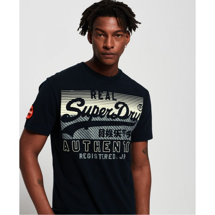Image for Superdry Vintage Logo Reactive Classic Box Fit T-Shirt