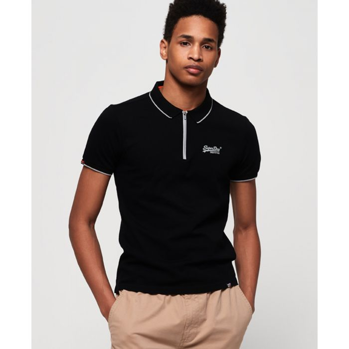 Image for Superdry City Sport Zip Polo Shirt