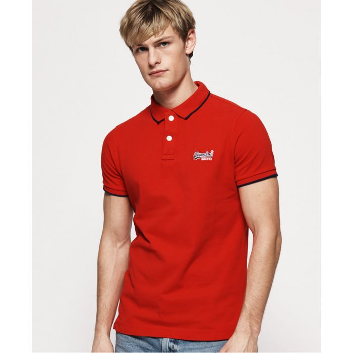 Image for Superdry Hyper Classic Pique Polo Shirt