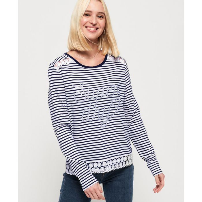 Image for Superdry Sienna Graphic Top