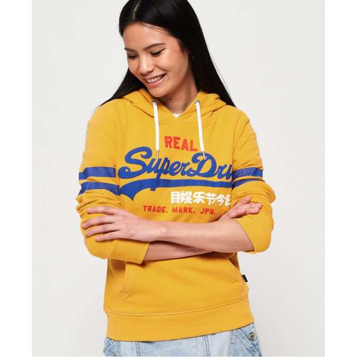 Image for Superdry Vintage Logo Classic Retro Hoodie