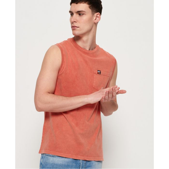 Image for Superdry Surplus Goods Pocket Oversized Vest Top