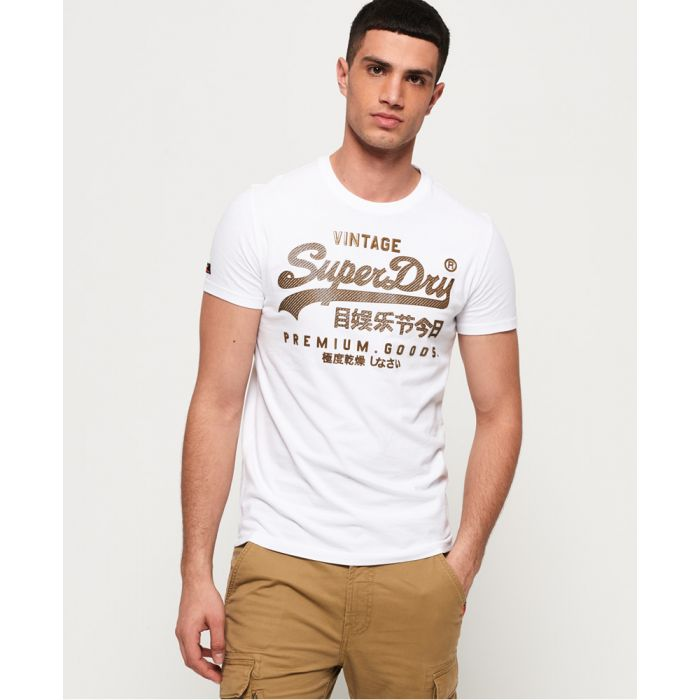 Image for Superdry Vintage Logo Authentic Mid Weight T-Shirt