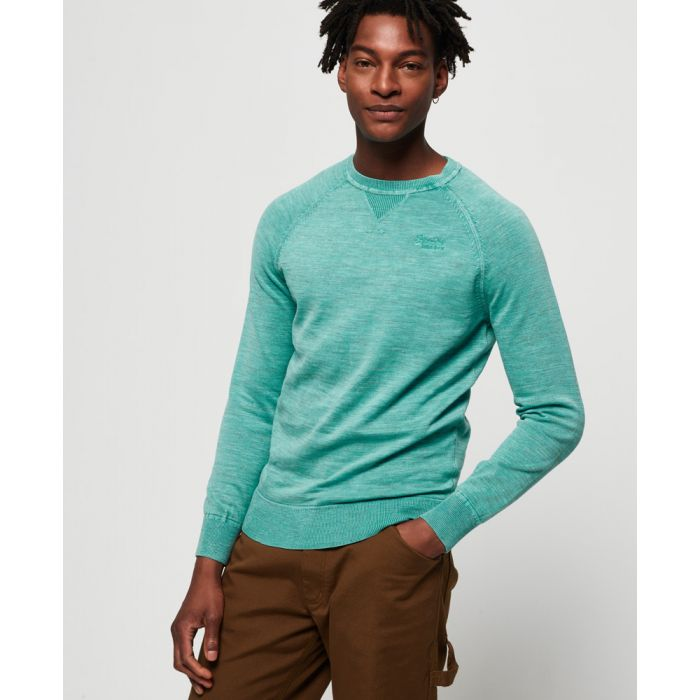 Image for Superdry Garment Dyed L.A Crew Jumper