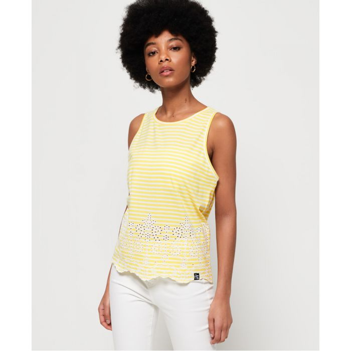 Image for Superdry Lara Broderie Vest