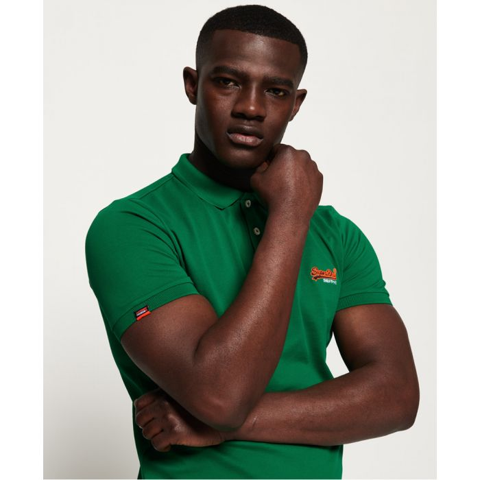 Image for Superdry Mercerised Lite City Polo Shirt