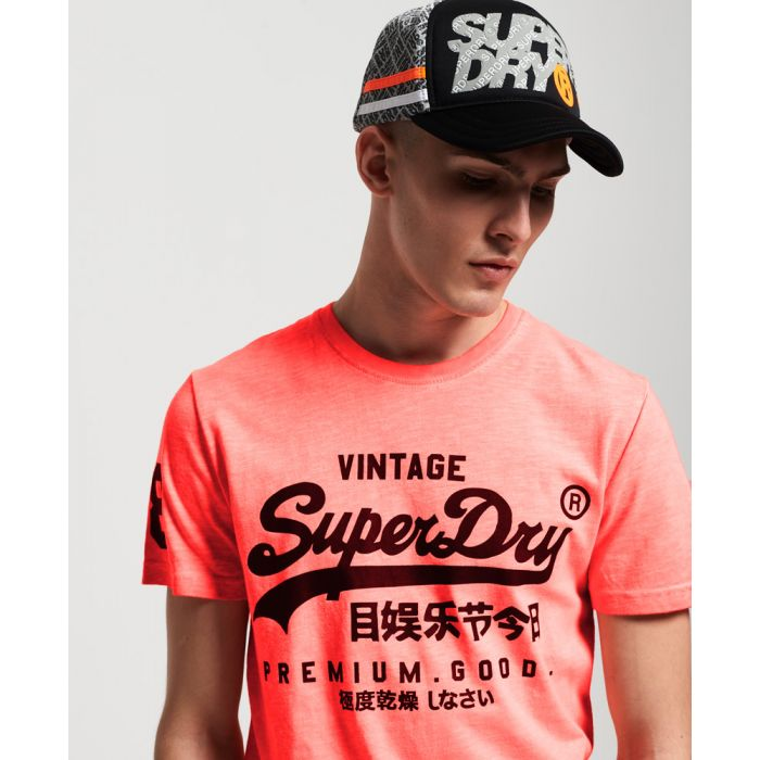 Image for Superdry Premium Goods Mid Weight All Over Print T-Shirt