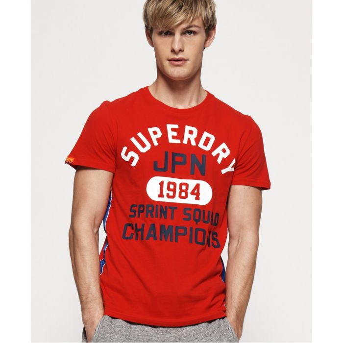 Image for Superdry Track & Field Lite Taped T-Shirt