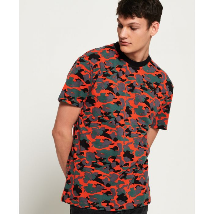Image for Superdry Orange Label Urban Printed Box T-Shirt