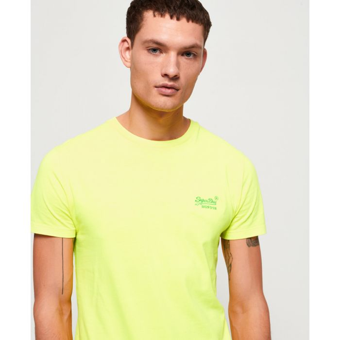 Image for Superdry Orange Label Neon T-Shirt