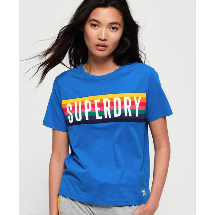 Image for Superdry Rainbow Graphic T-Shirt