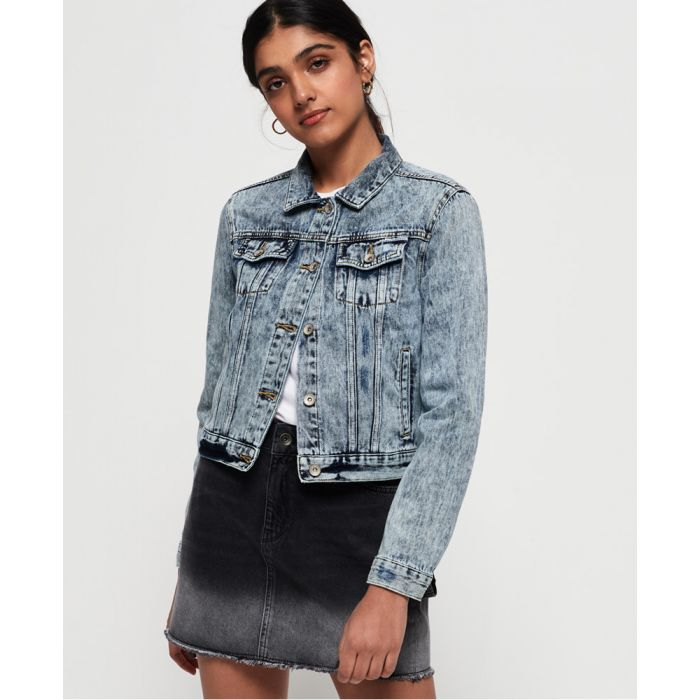 Image for Superdry Denim Girlfriend Jacket