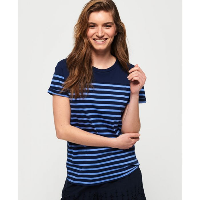 Image for Superdry Pop Breton T-Shirt