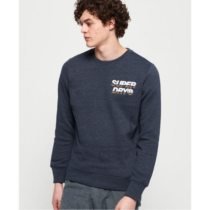 Image for Superdry Cali Applique Logo Crew Sweatshirt