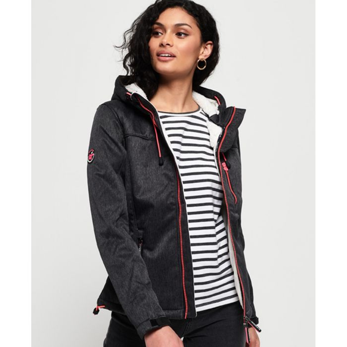 Image for Superdry Hooded Sherpa SD-Windtrekker Jacket