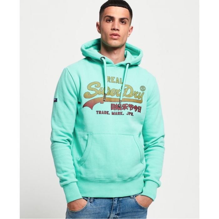 Image for Superdry Vintage Logo Fade Hoodie