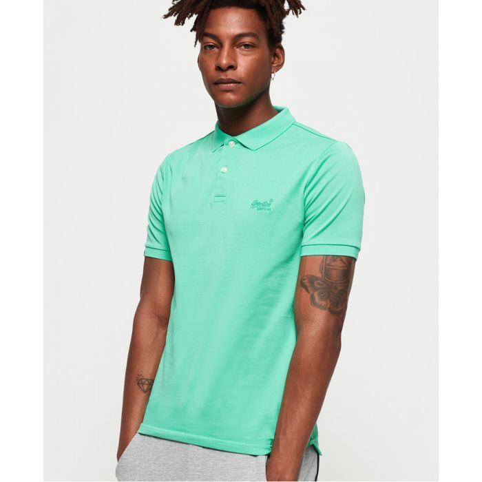 Image for Superdry Classic Micro Pique Polo shirt
