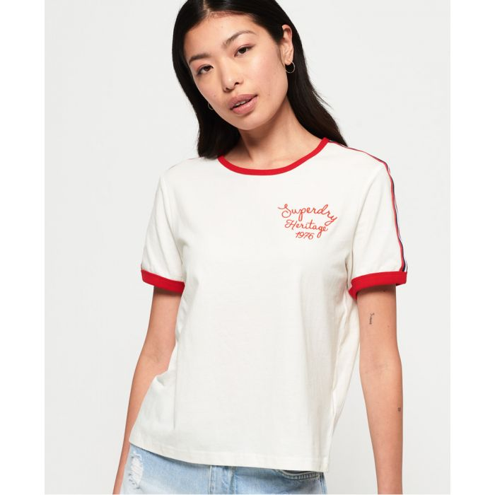 Image for Superdry Heritage Embroidery Ringer Box T-Shirt