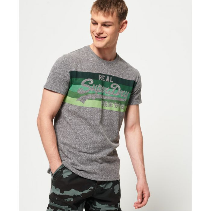 Image for Superdry Vintage Logo Cali Stripe T-Shirt