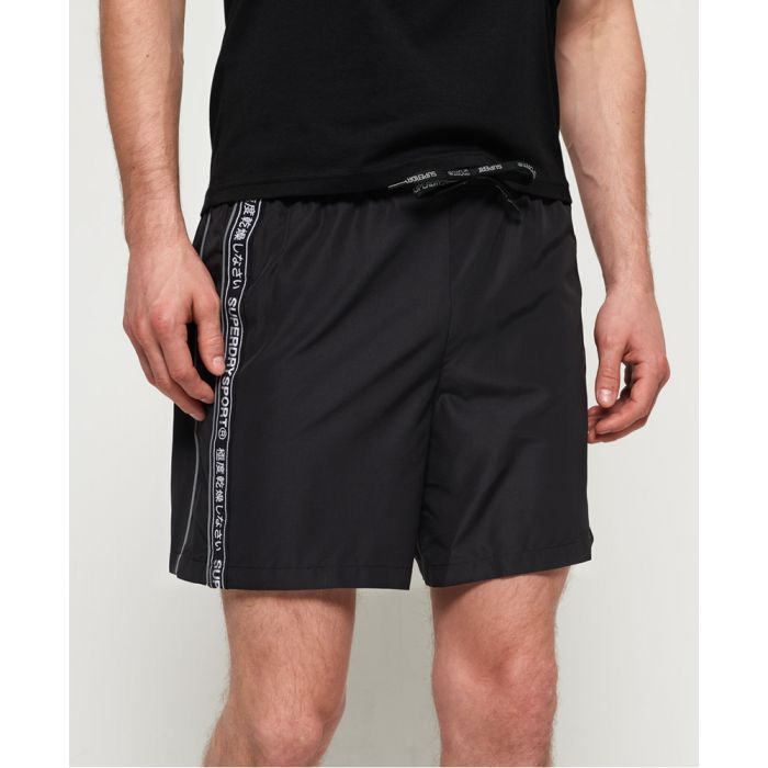 Image for Superdry Active Logo Taped Shorts