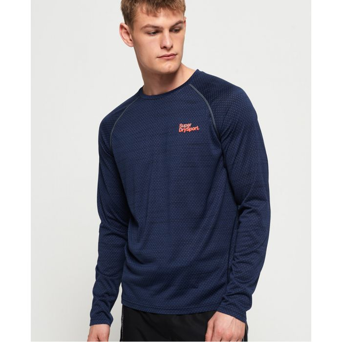 Image for Superdry Active Loose Microvent Long Sleeve T-shirt