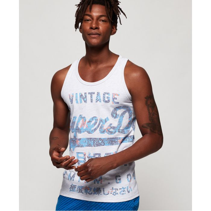 Image for Superdry Premium Goods Fade Vest