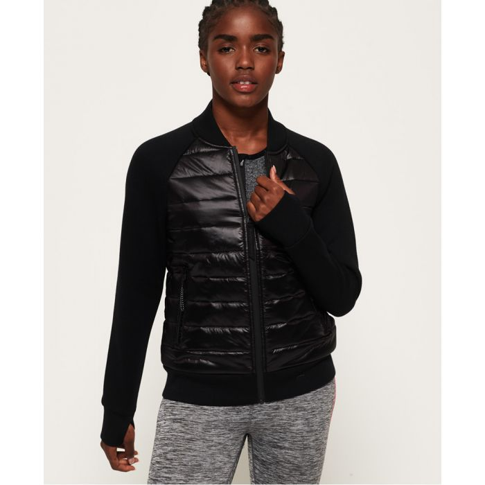 Image for Superdry Core Gym Tech Hybrid Jacket