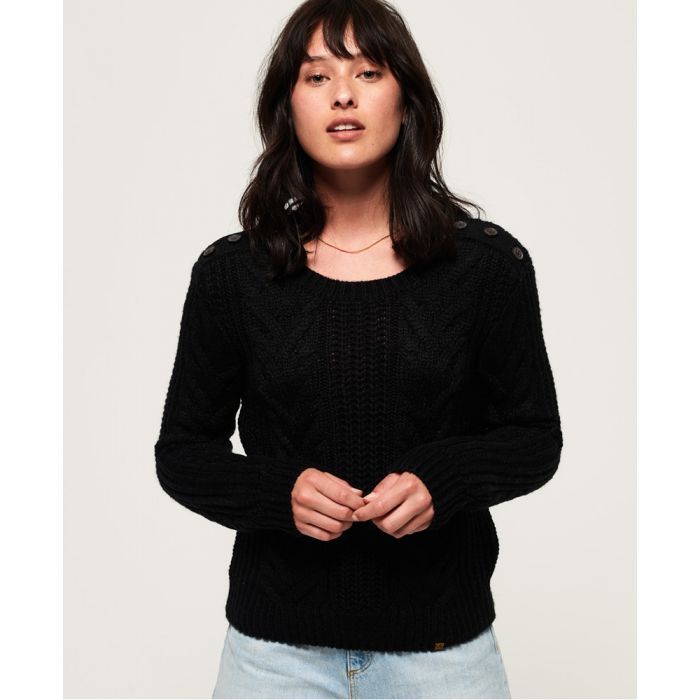 Image for Superdry Jenna Cable Jumper
