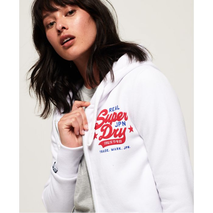 Image for Superdry Real Vintage Zip Hoodie