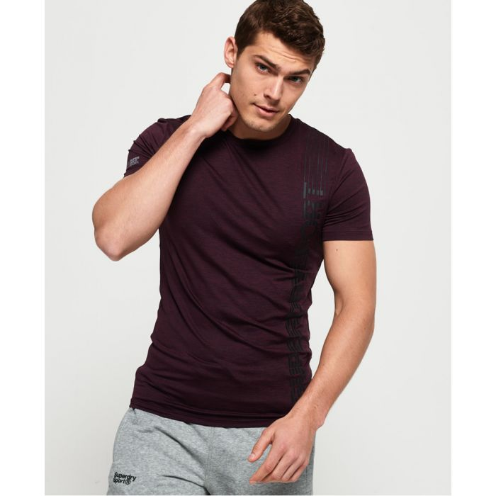 Image for Superdry Active Tight Linear Print T-Shirt