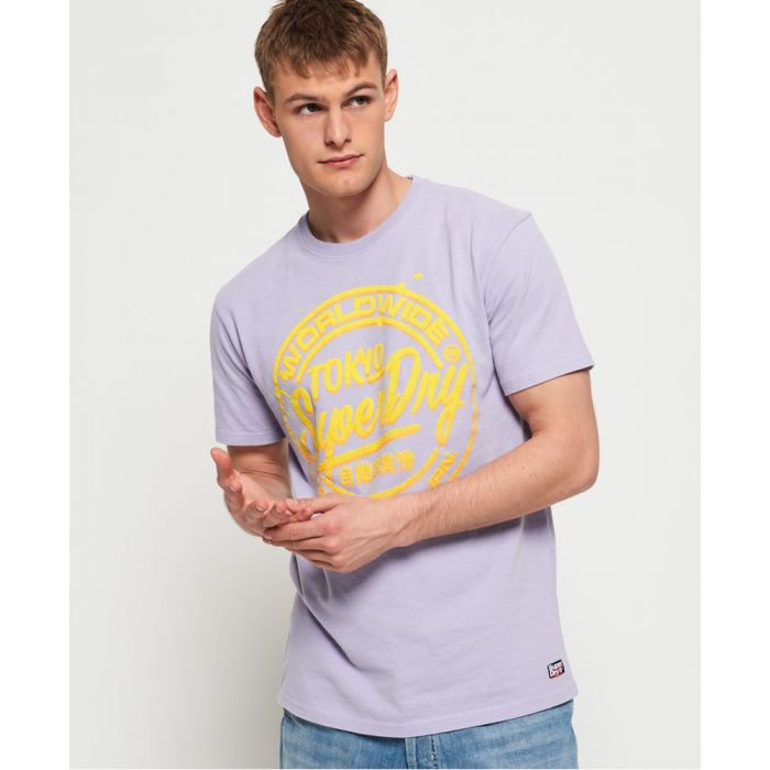 Image for Superdry Ticket Type Pastel T-Shirt