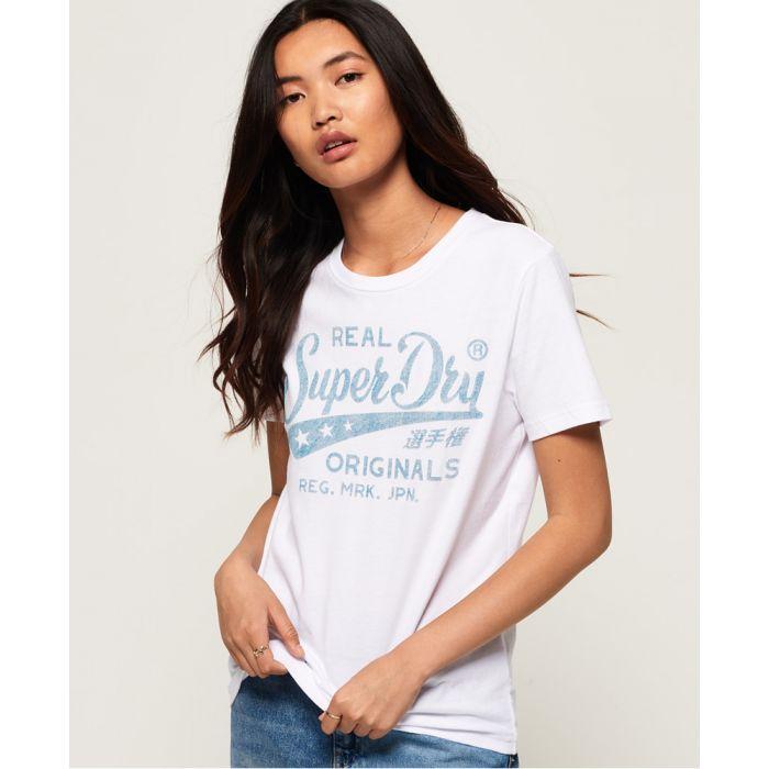 Image for Superdry Real Originals Mock Denim T-Shirt