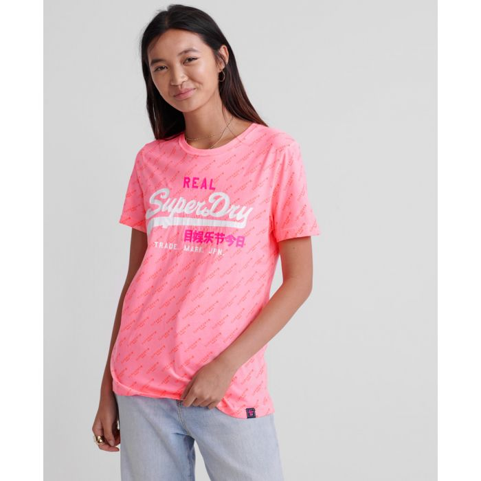Image for Superdry Vintage Logo Tonal All Over Print T-Shirt