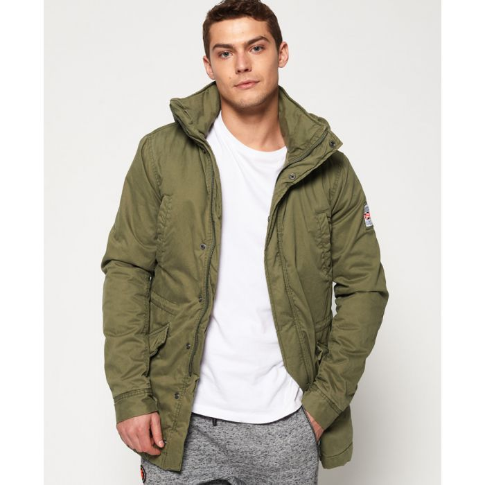 Image for Superdry Rookie Military Parka Jacket
