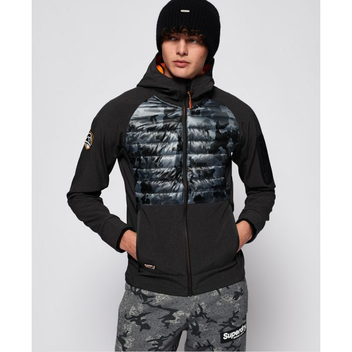 Image for Superdry Mountain Soft Shell Hybrid Jacket