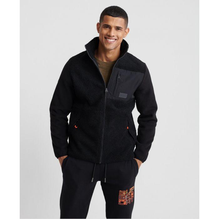 Image for Superdry Sherpa Desert Modern Zip Through Jacket