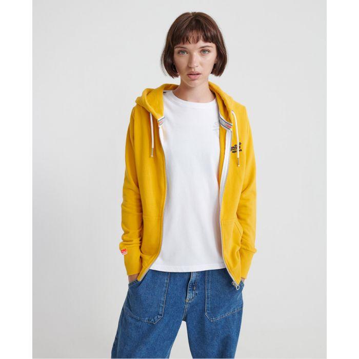 Image for Superdry Orange Label Lite Zip Hoodie