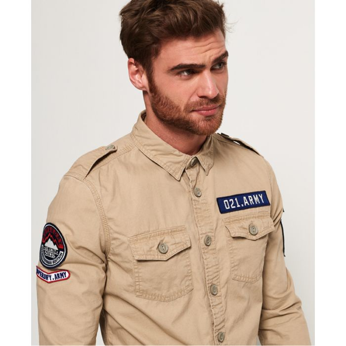 Image for Superdry Army Corps Lite Long Sleeve Shirt