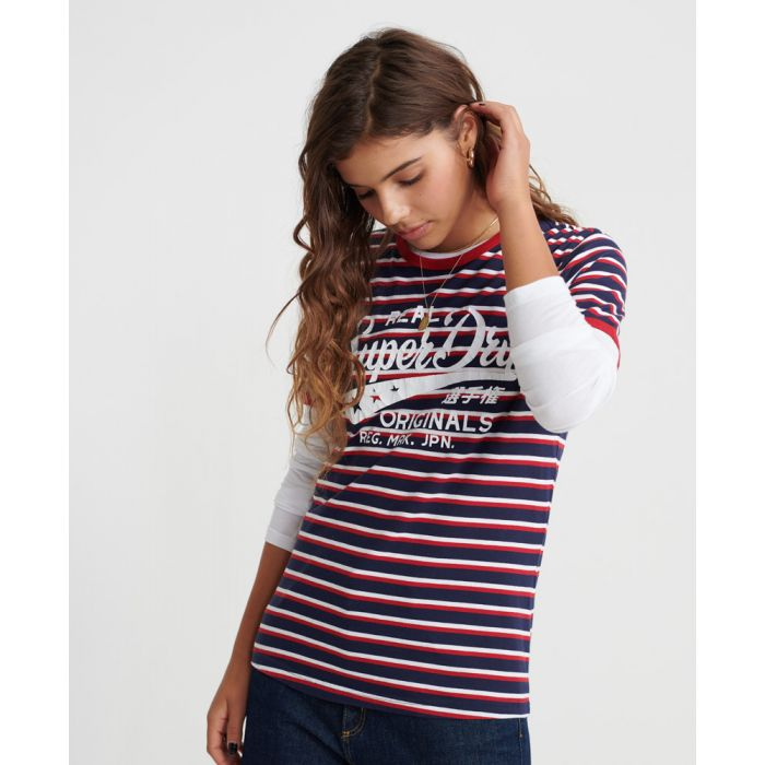 Image for Superdry Real Originals Stripe T-Shirt