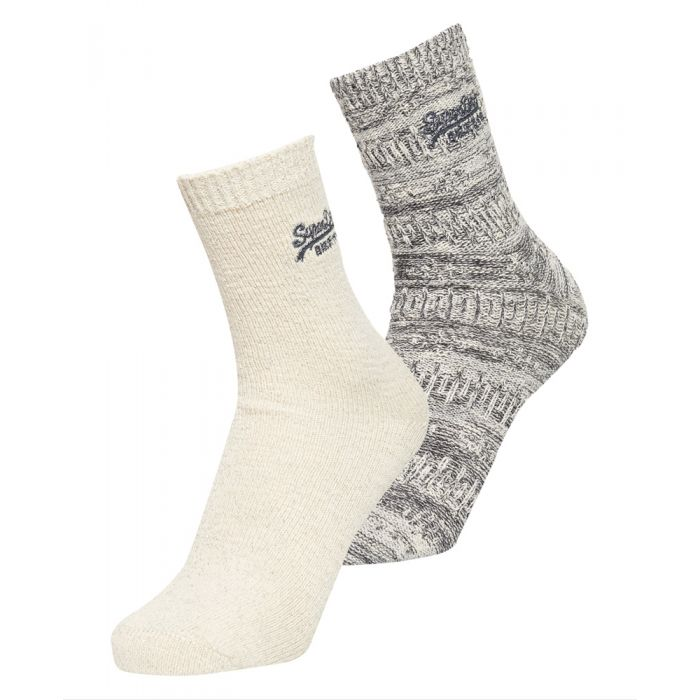 Image for Superdry All Over Sparkle Socks Double Pack