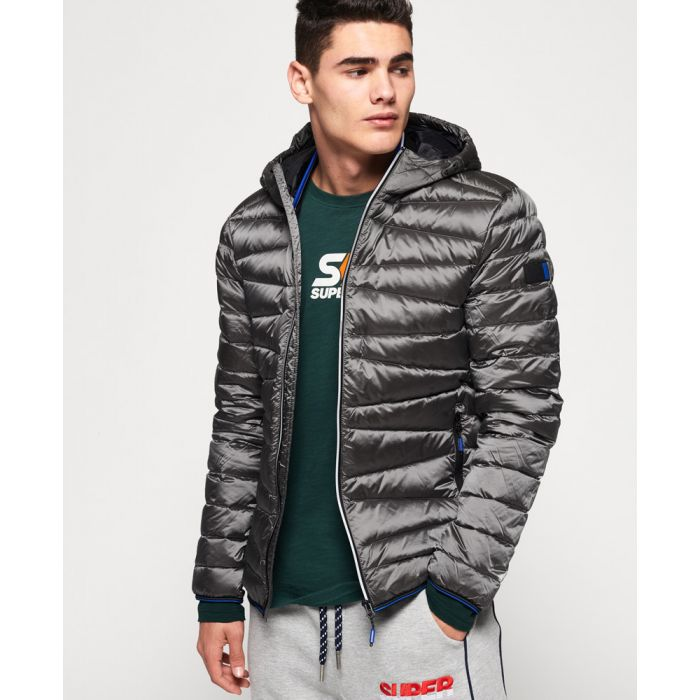 Image for Superdry Clarendon Down Hooded Jacket