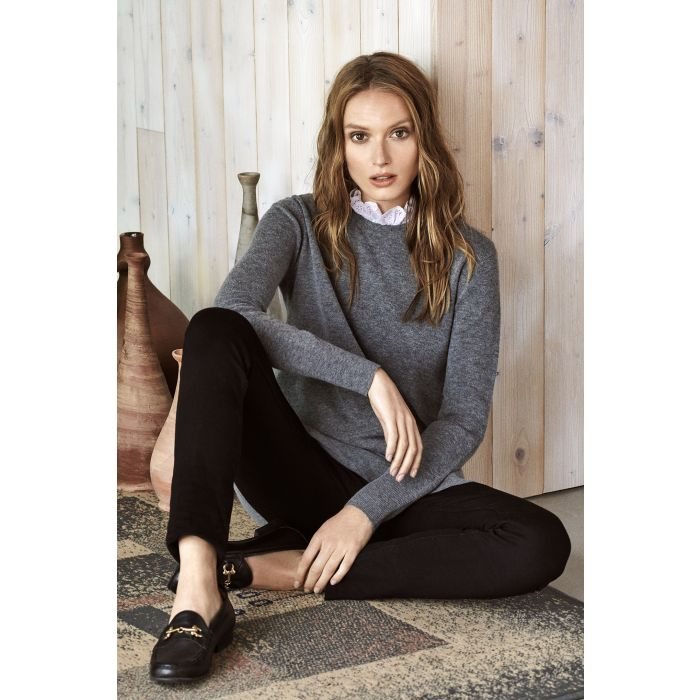 Image for Womens Cutwork Collar Sweater