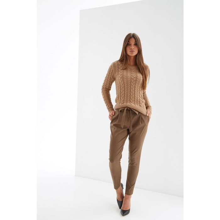 Image for Womens camel jumper