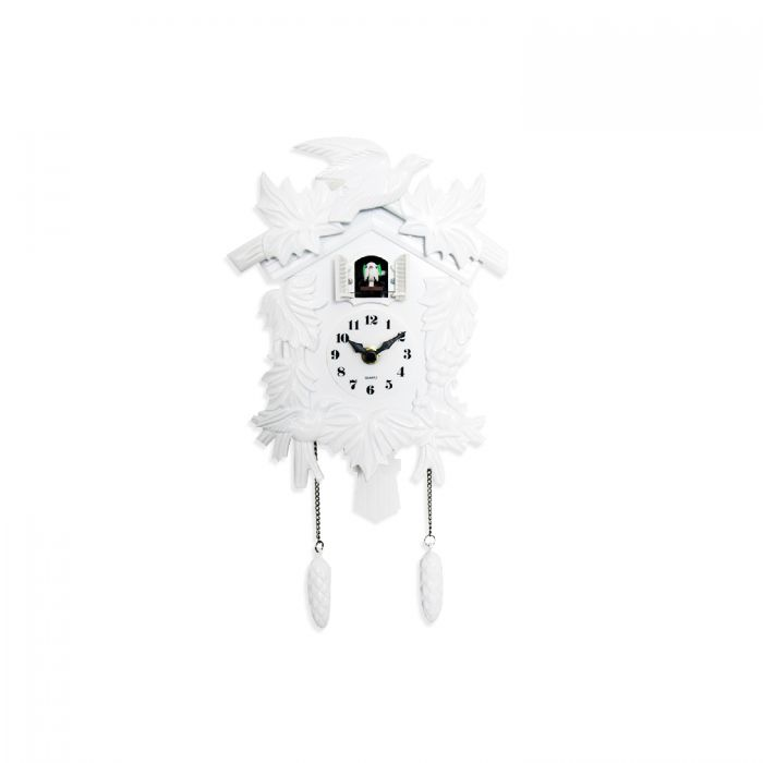 Image for Cuckoo Clock in White