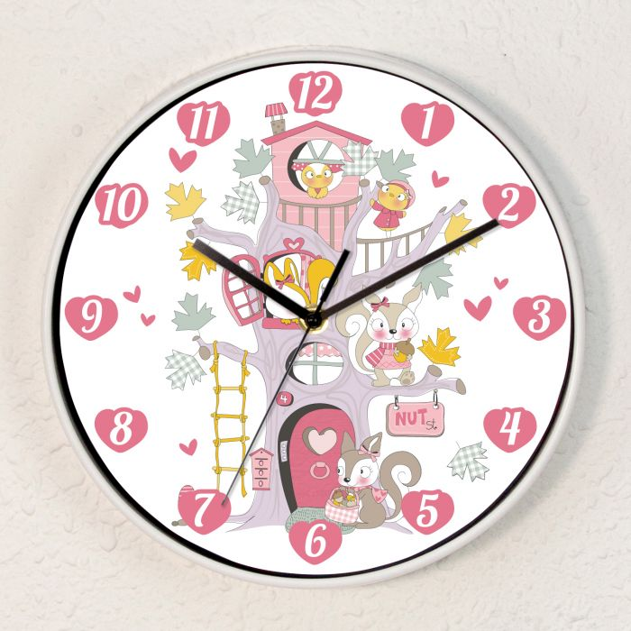 Image for Kids Room Happy Tree Friends Children Wall Clock