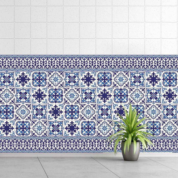 Image for Granada Tiles Wall Stickers - 10 cm x 10 cm - 24 pcs
