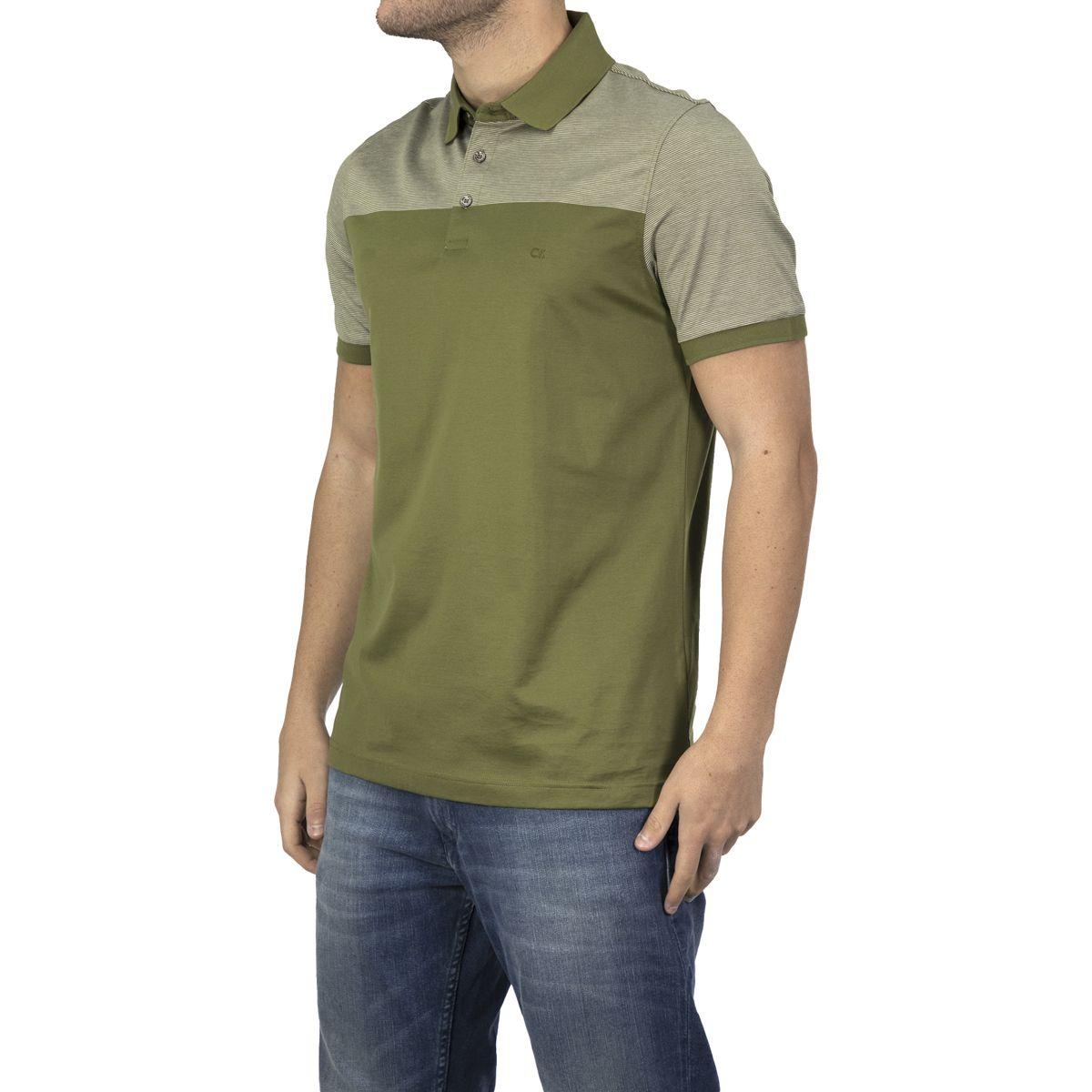Calvin Klein Men Polo Shirt Palmer