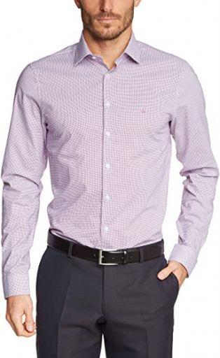 Calvin Klein Men Shirt Bari Slim Fit