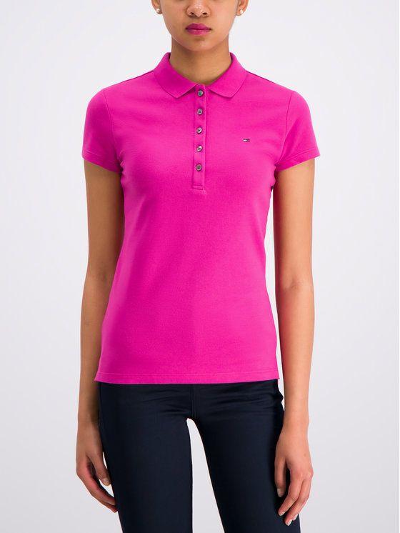 Tommy Hilfiger Polo Shirt New Chiara Pique