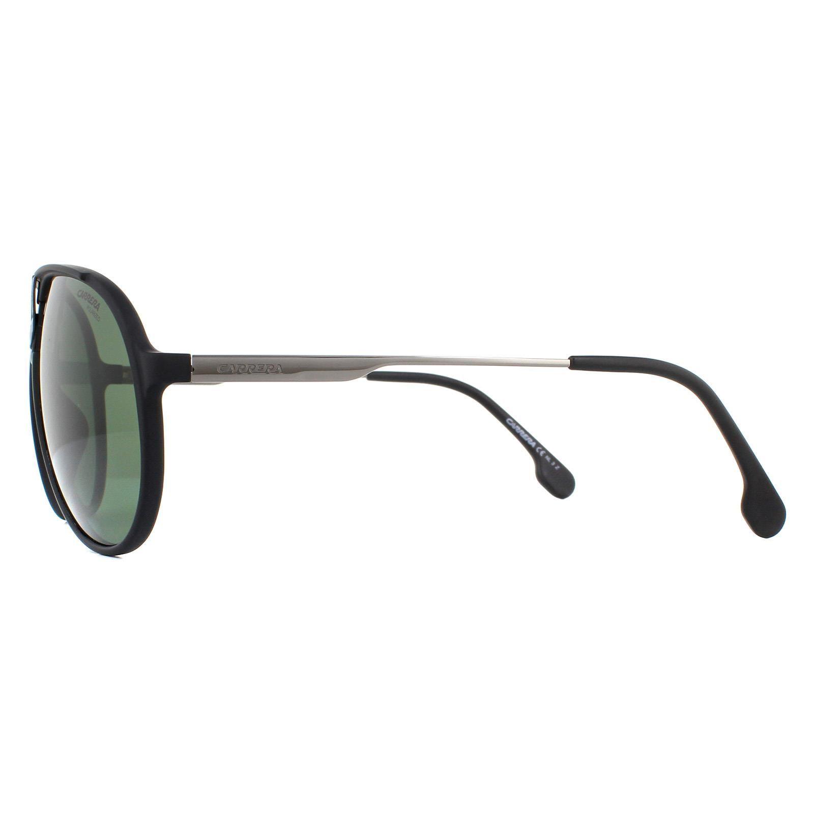 Carrera Sunglasses 1034/S 003 UC Matte Black Green Polarized